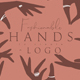 Fashionable Hands To Create a Logo - GraphicRiver Item for Sale