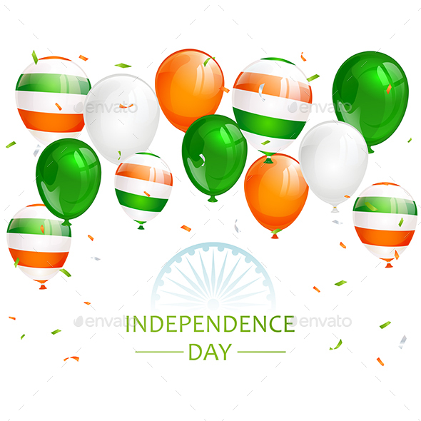 Indian Independence Day Balloons