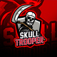 Skull Trooper Gaming eSports Logo - GraphicRiver Item for Sale