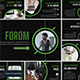 Forom - Keynote Template - GraphicRiver Item for Sale