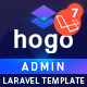 Hogo – Laravel Admin Template - ThemeForest Item for Sale