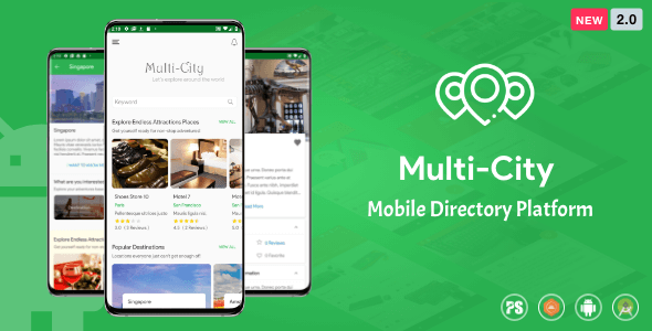 Multi-City ( City Directory Android App with Unlimited Cities ) 2.0 Download
