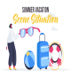 Summer vacation - Scene Situation - VideoHive Item for Sale