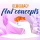 Democracy - Flat Concept - VideoHive Item for Sale
