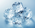 Heap of blue ice cubes - PhotoDune Item for Sale
