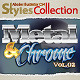 AI Styles Collection #02B: Metal & Chrome #02 - GraphicRiver Item for Sale