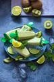 Kiwi Fruit Ice Cream Popsicles, Summer Sweets - PhotoDune Item for Sale