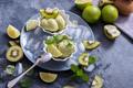 Kiwi Fruit Ice Cream Sorbet, Summer Dessert - PhotoDune Item for Sale
