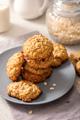 Oat Cookies, Healthy Vegan Snack - PhotoDune Item for Sale