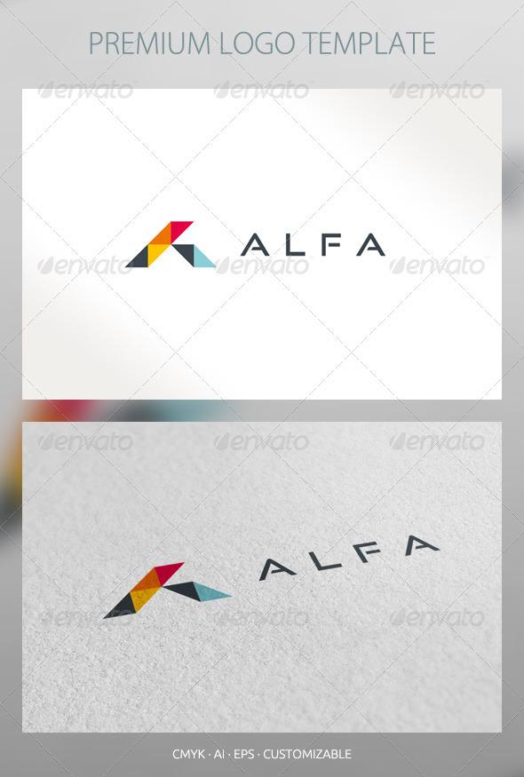 Alfa - Abstract Logo Template