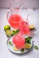 Rhubarb Drink, Summer Drink, Lemonade - PhotoDune Item for Sale