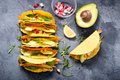 Vegetarian Tacos, Mexican Food, Healthy Snack - PhotoDune Item for Sale