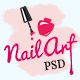 Pulchritude Nail art salon and booking PSD Template - ThemeForest Item for Sale