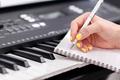 Woman writing music - PhotoDune Item for Sale