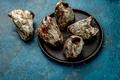 SEAFOOD PICOROCO. Austromegabalanus psittacus, the giant barnacle or picoroco. Chilean and peruvian - PhotoDune Item for Sale