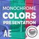 Monochrome Colors Presentation - VideoHive Item for Sale