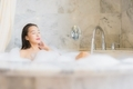 Portrait beautiful young asian woman relax take a bath - PhotoDune Item for Sale