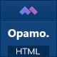 Opamo - Modern Fashion Shop HTML Template - ThemeForest Item for Sale
