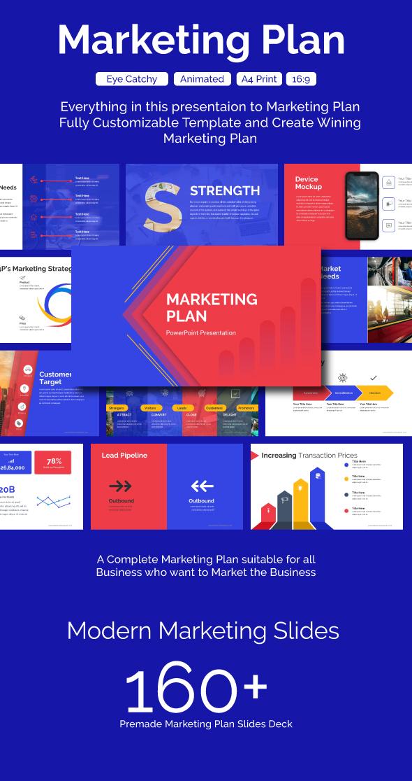 Marketing Plan PowerPoint Template