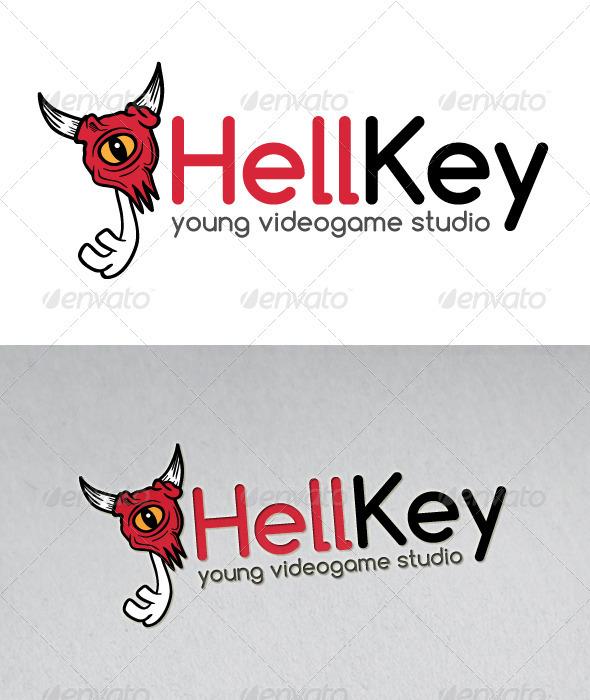 Hell Key Mascot Logo