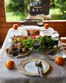Holiday table full of food grill on background - PhotoDune Item for Sale