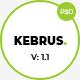 Kebrus | Minimal Multipurpose PSD Template - ThemeForest Item for Sale