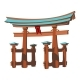 Vector Illustration of Miyajima Monument of Japan - GraphicRiver Item for Sale