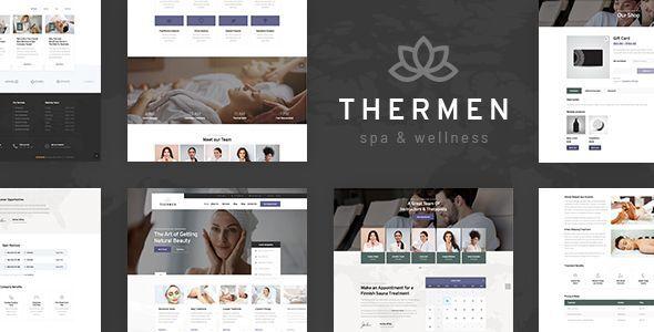 Thermen - Beauty Spa & Wellness Center WordPress Theme