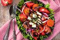 Tomato and feta cheese salad - PhotoDune Item for Sale
