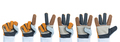 Set of working hand in rough leather glove - PhotoDune Item for Sale
