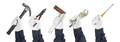 Set of working hand in glove holding tools - PhotoDune Item for Sale