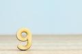 number nine - PhotoDune Item for Sale