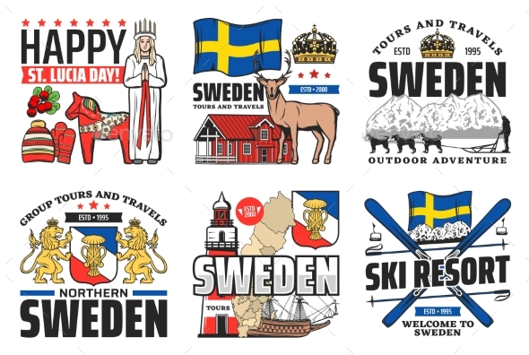 Seden Icons, Travel Holidays and Swedish Culture