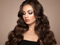 Brunette woman with curly hair - PhotoDune Item for Sale