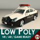 Low Poly Police Car 06 - 3DOcean Item for Sale