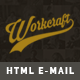 Workcraft | Newsletter Responsive E-mail Templates + Stampready Builder - ThemeForest Item for Sale