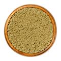 Hemp protein powder, ground hemp seeds in wooden bowl - PhotoDune Item for Sale