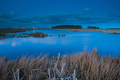 View of lake at blue hour - PhotoDune Item for Sale