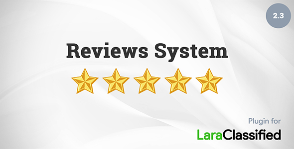 Reviews System PluginPrice : $35