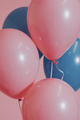 Pink and blue balloons for a birthday party - PhotoDune Item for Sale