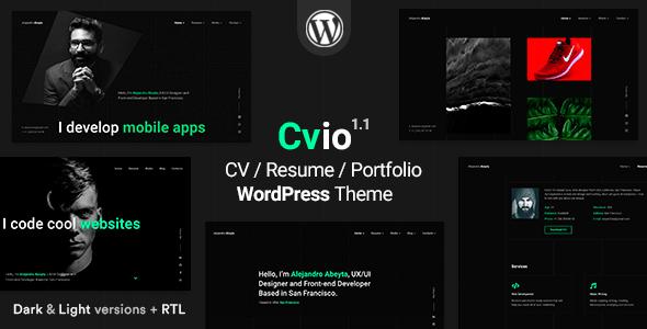Cvio | CV/Resume Theme