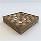 Checkers Draughts Game - 3DOcean Item for Sale