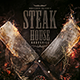 Steak House Bar Menu Template - GraphicRiver Item for Sale