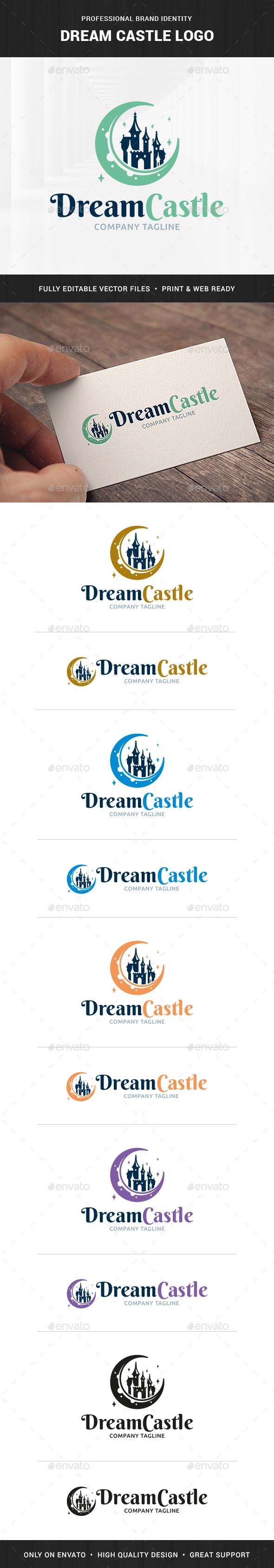 Dream Castle Logo Template