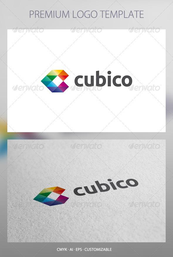 Cubico - Abstract Logo Template