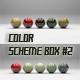 Color Scheme Box #2 - 3DOcean Item for Sale