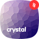 Crystal - Crystallized Mosaic Vector Backgrounds - GraphicRiver Item for Sale