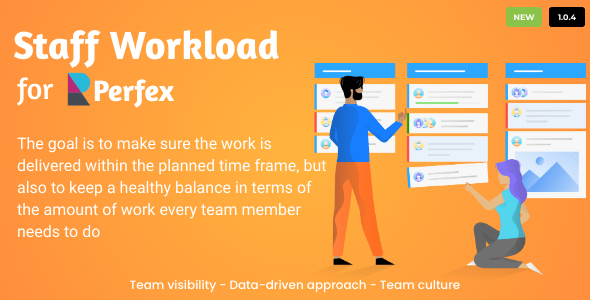 Staff Workload for Perfex CRM Download