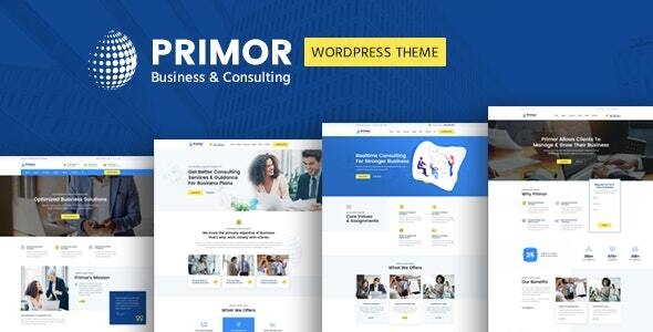 Primor - Business Consulting WordPress Theme