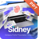 Sidney Company Profile Powerpoint Presentation Template Fully Animated - GraphicRiver Item for Sale